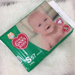 TESCO LOVES Baby Diapers (S size)