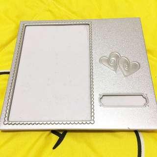 Heart design photo frame.