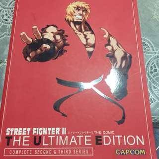 Street Fighter Big Comic trade book