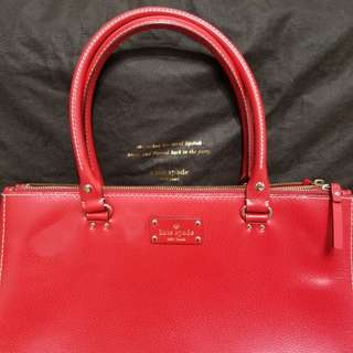 Kate Spade- Tote bag red
