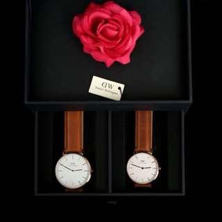 情人節限定禮盒  同色男女對錶
