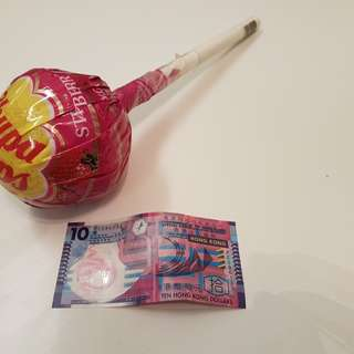 巨型珍寶珠 chupa chup strawberry flavor