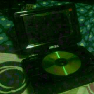 Akira Portable Dvd Player Dps9703D All Parts And Accessories In Excellent Condition  Screen Still Has Plastic Protector Sealed  Comes In A Black Bag.  Pickup Hougang Buangkok Mrt  Bought At $200, Selling Cos Ive Another Identical Set
