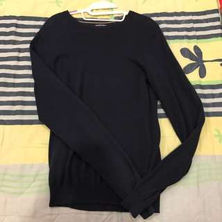 American Apparel Navy Sweater