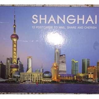 魅力上海明信片11張