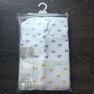 Mothercare (3 Pure Soft Cotton Sleepsuits)