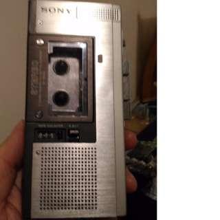 古早 早期 sony錄音機