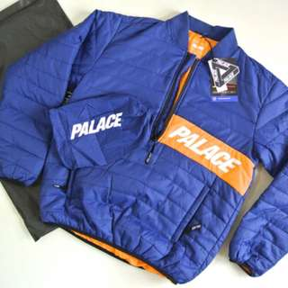 (代購) PALACE NYLON HARF ZIP PACKER 3M