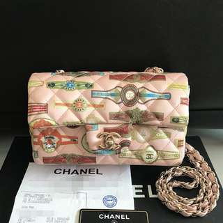 Authentic Chanel Mini Rectangle Flap Bag