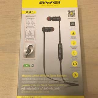 Awei AK5 智能磁控藍芽耳機