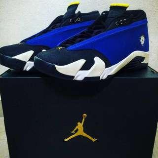Air Jordan 14 Low Laney Blue