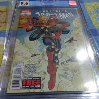 Avenging Spiderman 9 cgc 9.6