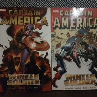 Captain America Winter Soldier Vol. 1 and 2