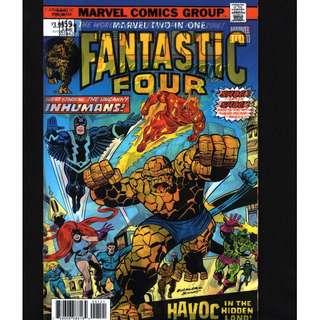 Marvel Two-In-One #1; Jon Malin Lenticular Variant Cover