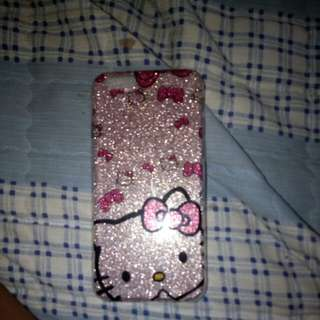 Hello Kitty Phone Case ( Used only for jus 1 week)