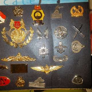 Badges and Pin collection