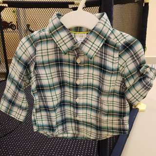 [GENUINE 50% OFF] Baby GAP long Sleeve Collar Top