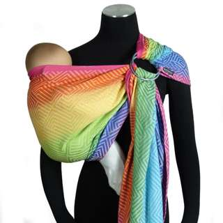 BN DidySling Metro Rainbow by Didymos (ring sling/ baby sling/ baby carrier)