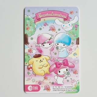 Sanrio Characters Ezlink Card