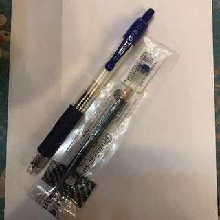 Pilot G-2 0.5 藍色墨水筆筆芯