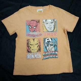 Tshirt budak lelaki Marvel
