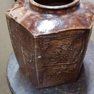 Vintage Ceramic Tea Container / Caddy