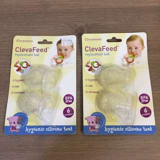 Clevafeed replacement teats