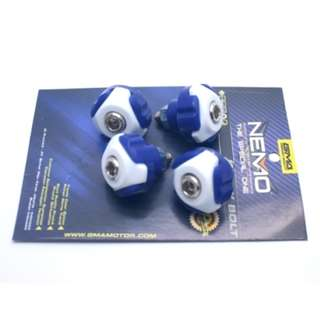 BAUT NEMO COVER BODY WHITE-BLUE (ISI 4PCS)