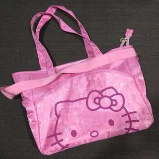 Hello Kitty Diaper Bag - Pink