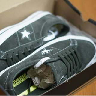 Converse One Star Pro Ox Sequoia White