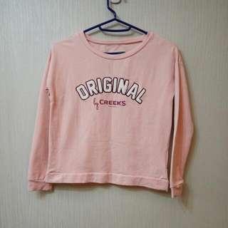 Creeks粉色衛衣