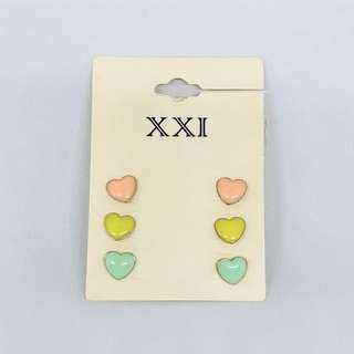 Pastel Hearts Earrings