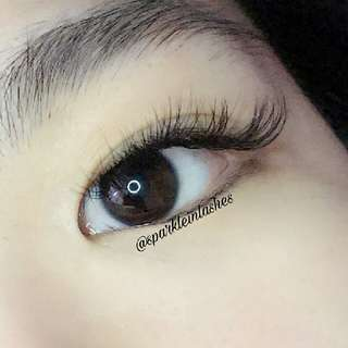 2D lash extension