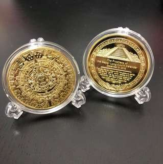 Mayan Commemorative Coin
