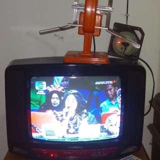 TV/Televisi/TIVI Ukuran 14 inch merek Konka Bagus dan Murah
