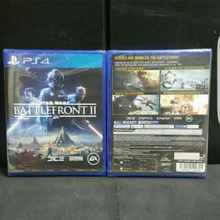 [BN] PS4 Star Wars Battlefront II 2 (Brand New)