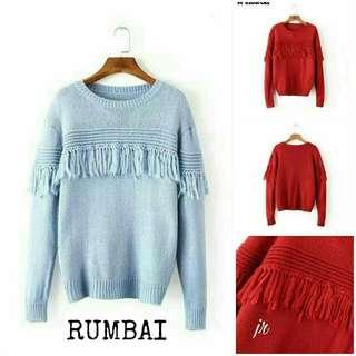 Atasan Rumbai Knit