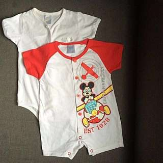 Disney and Pureen onesie romper