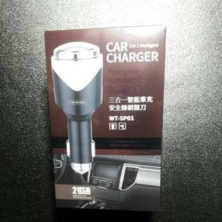 🚚 車用帶雙USB充電短鬚專用輕巧刮鬍刀