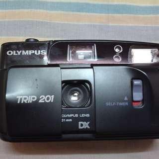 Olympus Trip 201 Vintage Camera