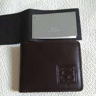 Lacoste Genuine Leather Wallet 真皮銀包