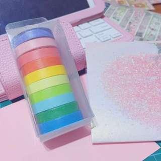 Washi Tape Set (7.5mm x 5m)
