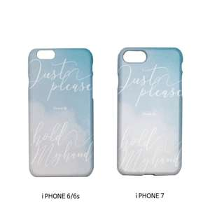 [Official Goods] CNBLUE 8th Anniversaru TRACK 8 i-PHONE CASE 6/6S , 7