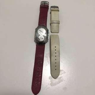 Philip stein 減價了,女裝手錶中size 多送一條白色錶帶