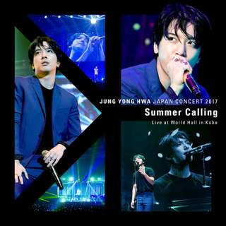 "[CD ALBUM] Jung Yong Hwa Japan Concert 2017 ""Summer Calling"" Live in Kobe"