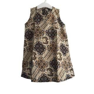 Batik Dress Size 3-4y