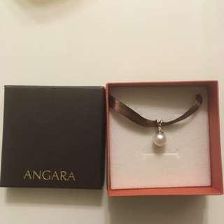 Angara freshwater pearl pendant