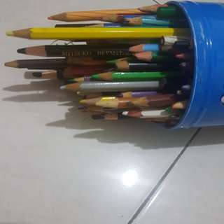 Pensil warna take all