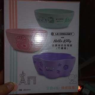 Hello Kitty 法國造型餐碗