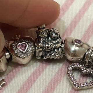 Pandora Bride and Groom Charm (Discontinued/Retired)